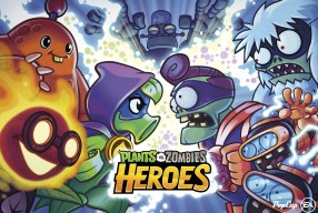 Lawn of a New Battle Plants vs. Zombies Heroes Available Now on Mobile