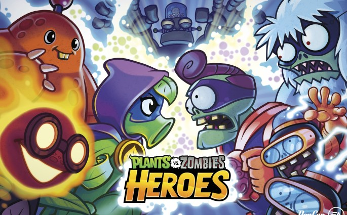 Lawn of a New Battle Plants vs. Zombies Heroes