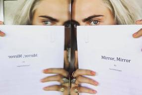 Cara Delevingne's Debut Novel MIRROR, MIRROR To Hit Shelves In October. Pre Order Now.