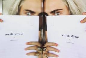 Cara Delevingne's Debut Novel MIRROR, MIRROR To Hit Shelves In October. Pre Order Now.