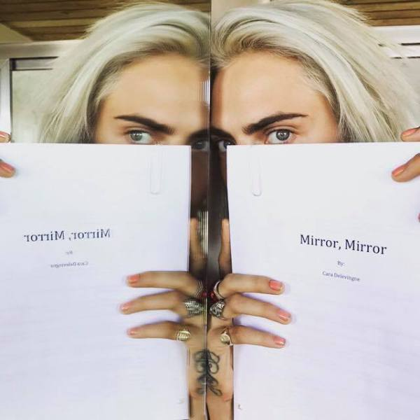 Cara Delevingne's Debut Novel MIRROR, MIRROR To Hit Shelves