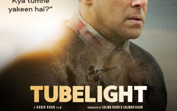 TUBELIGHT Salman Khan With A Hint Of Shah Rukh Khan