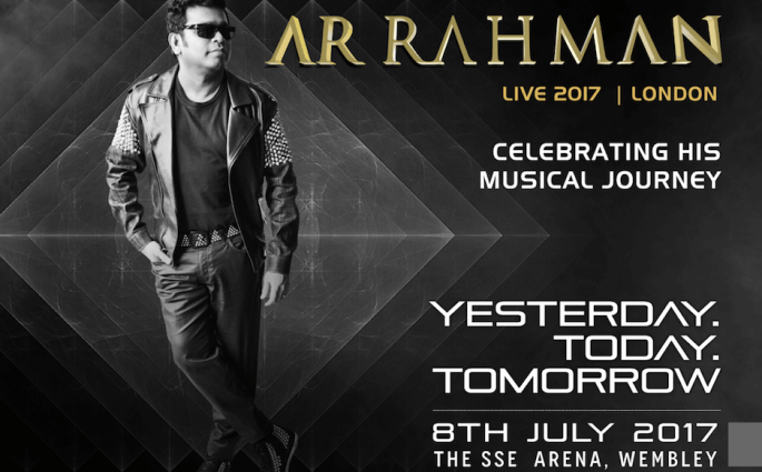YESTERDAY TODAY TOMORROW A R Rehman Concert Celebrates 25 Years In Music
