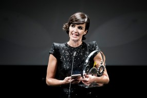 Spanish actress Paz Vega received the JAEGER LECOULTURE LATIN CINEMA Award