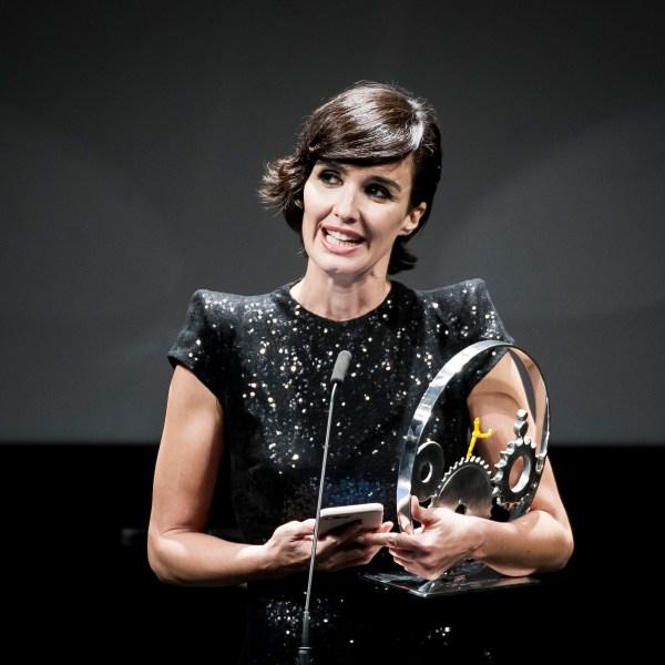 Spanish actress Paz Vega received the JAEGER LECOULTURE LATIN CINEMA Award