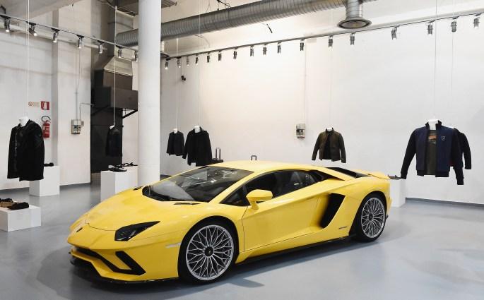 Collezione Automobili Lamborghini at Milan Fashion Week 2018