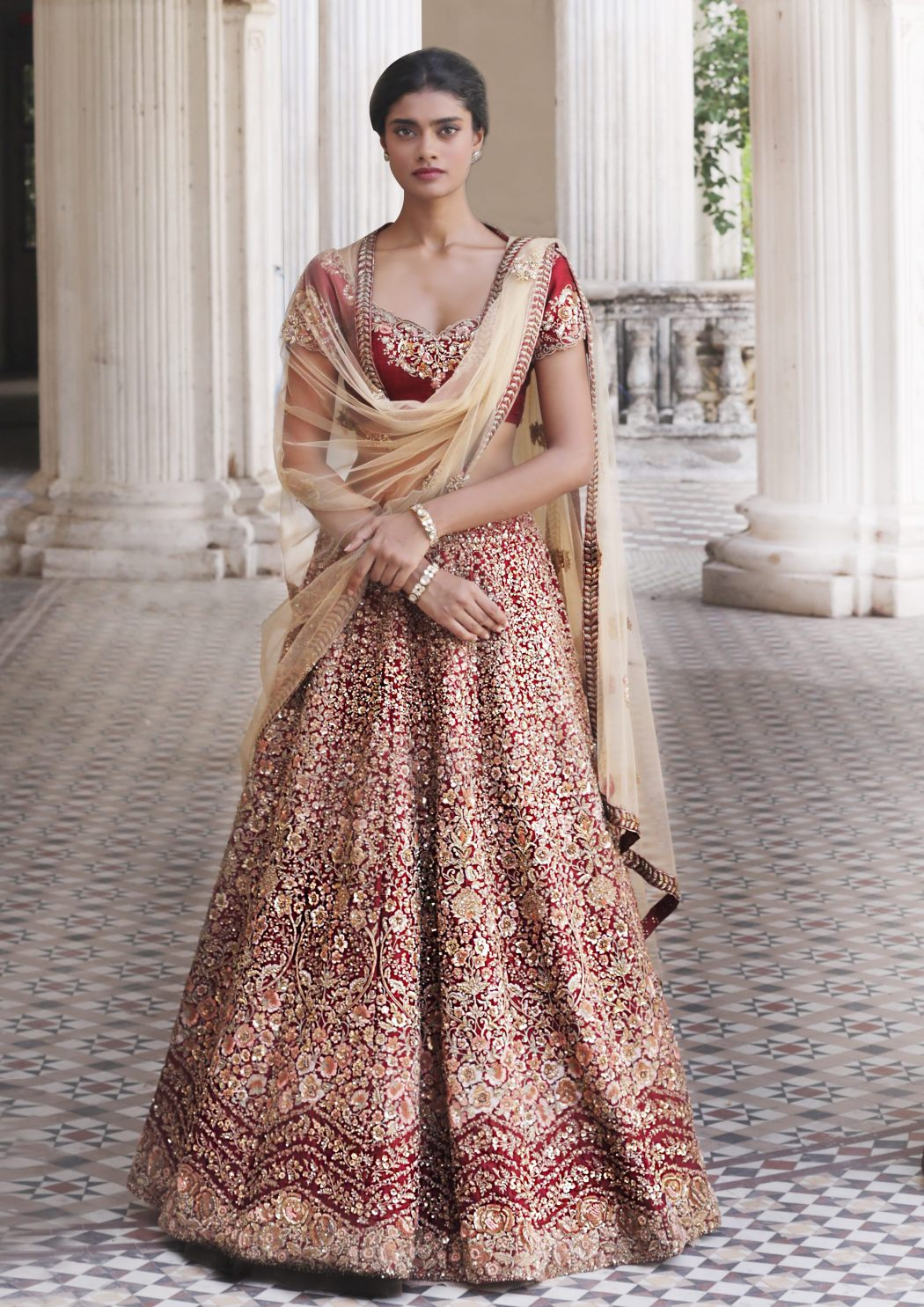Sought after Indian designer duo Shyamal and Bhumika