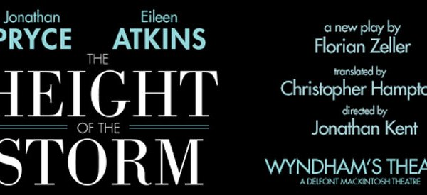 West End Play THE HEIGHT OF THE STORM Star Jonathan Pryce And Dame Eileen Atkins Together For The First Time