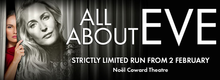 Gillian Anderson Stars In ALL ABOUT EVE Theatrical Adaptation In London