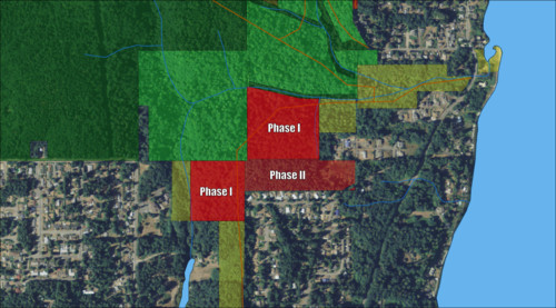 Timbers Edge Phases Map