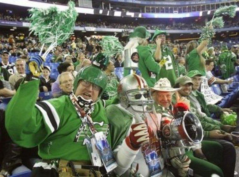 Saskatchewan Roughrider Fans