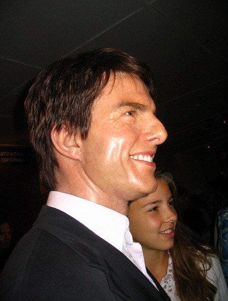 """Thomas """"Tom"""" Cruise Born  July 3, 1962.  An outlandish American film actor and producer. He has been nominated for three Academy Awards and has won three Golden Globe Awards. - Image  by Alex Jilitsky"""