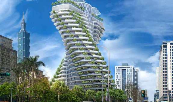 El edificio-jardín que querrás visitar
