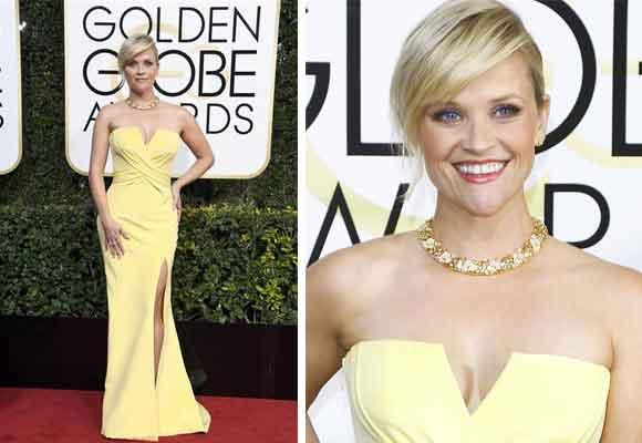 Espectacular Reese también de amarillo