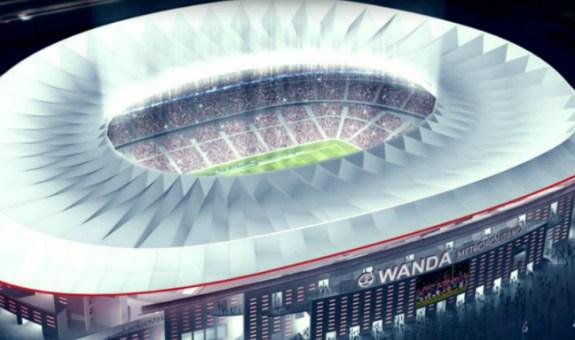 Así es el estadio 5* del Atlético de Madrid
