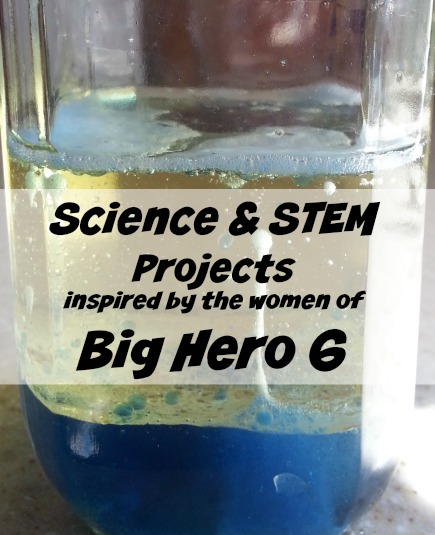 Science Experiments Inspired by Big Hero 6