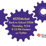 Save the Date for STEMchat with Texas Instruments!