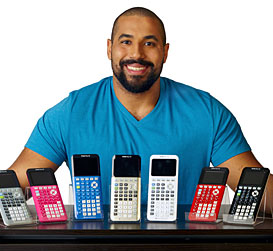 Math for the win #MathFTW with Texas Instruments and John Urschel