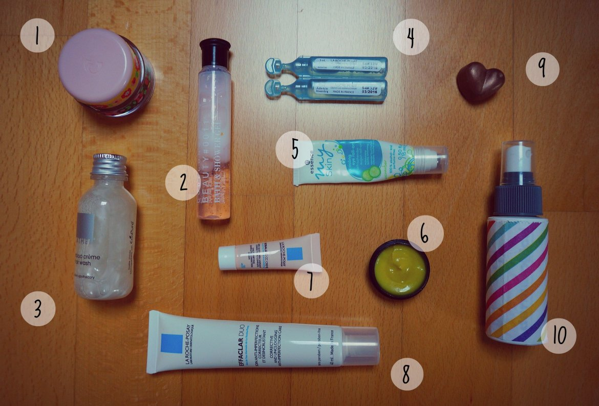 What's in my makeup bag on a citytrip