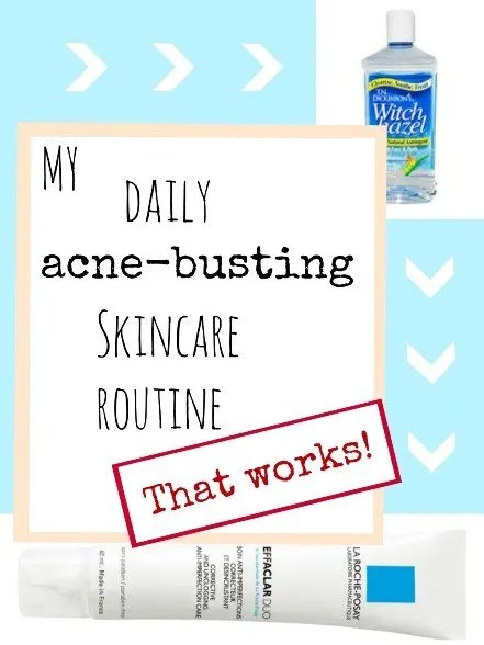 My daily acne-busting skincare routine that works