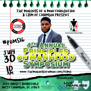 4th Annual Principles of Manhood Symposium @ West Columbia | South Carolina | United States