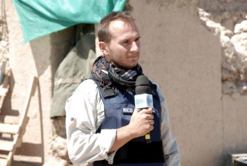 L'inviato del tg3 Nico Piro a Modena per parlare di immigrazione