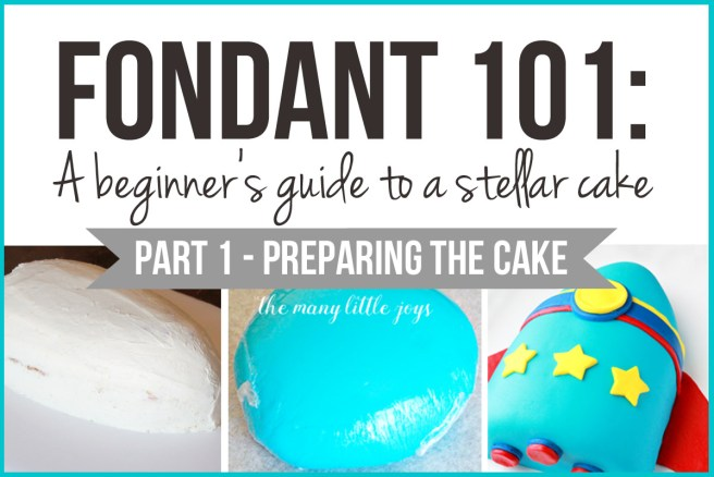 Have you ever wished you could make a really professional-looking cake? This two-part series will teach you everything you need to know about how to make a fancy fondant cake, starting with part one: how to prepare your cake. Give it a try!