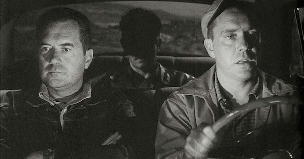 Roy & Gilbert in THE HITCH HIKER
