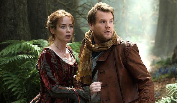 Emily Blunt and James Corden