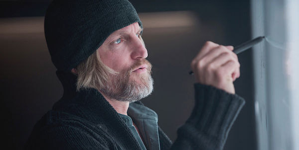 Woody Harrelson in Mockingjay