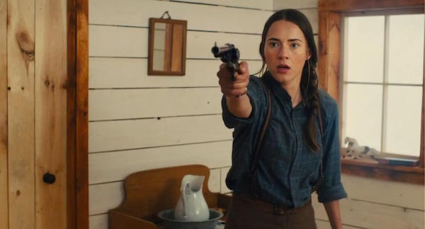 Caren Pistorius in Slow West
