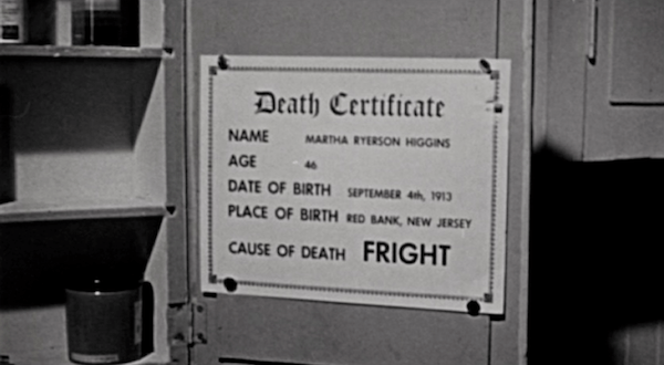 Death by Fright
