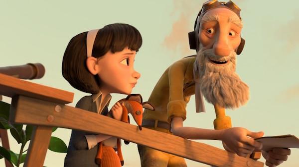 The Little Girl & The Aviator