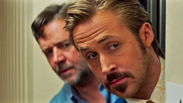 Gosling and Crowe in THE NICE GUYS