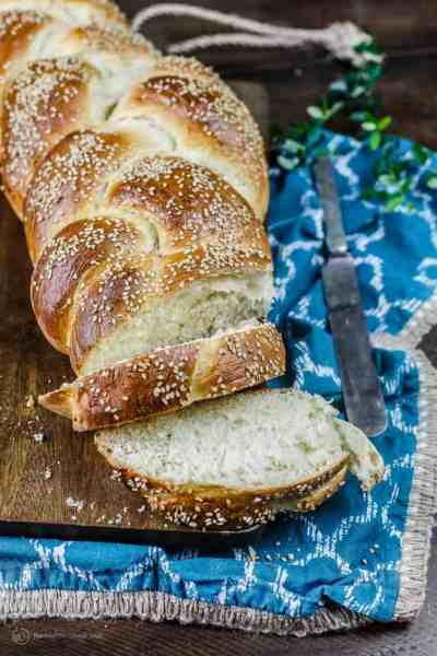 Challah Bread Recipe (How to Make Challah Tutorial) The Mediterranean Dish