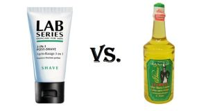 Shave Balm vs. Cologne/Aftershave Splash