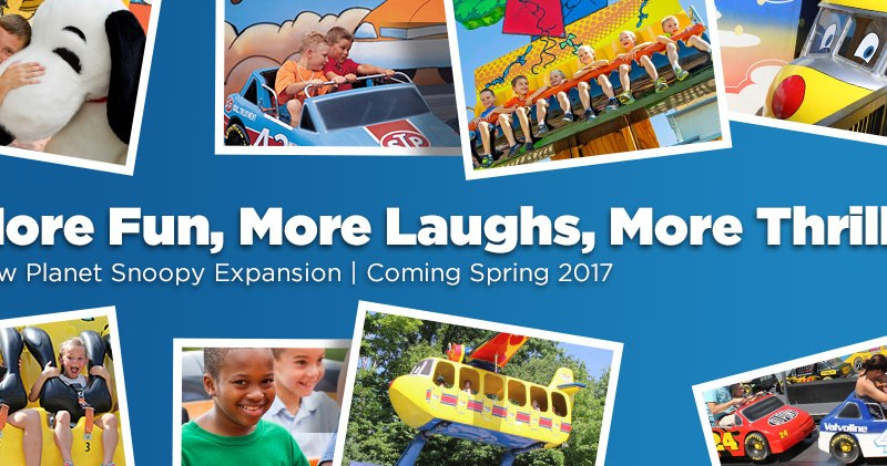 Kings Dominion to Expand Planet Snoopy for 2017