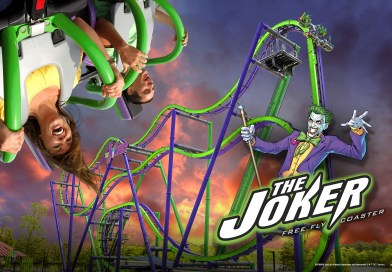 Joker 4D Free-Fly Coaster Coming to Six Flags New England, Great America, and Texas in 2017