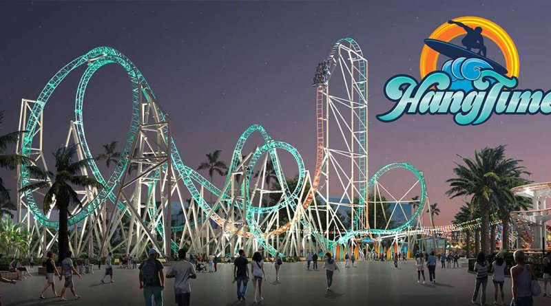 "Knott's Berry Farm Announces ""HangTime"" Roller Coaster for 2018"