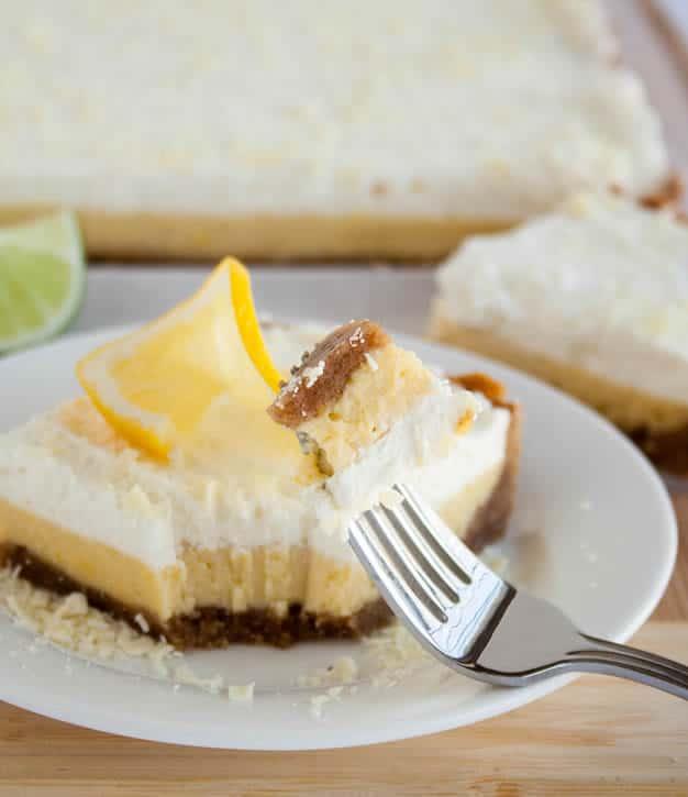 Lemon Lime Cream Slab Pie - The Merchant Baker
