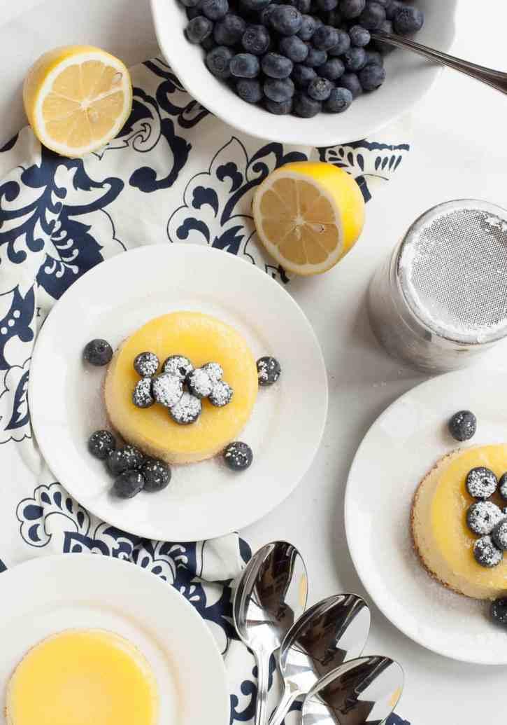 Lemon Souffle Pudding Cakes 21