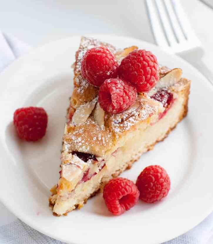 Raspberry Almond Cake 13