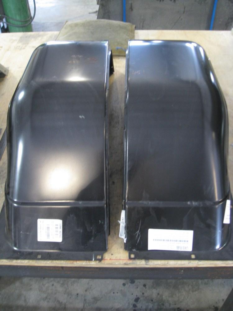 Custom Chevy C10 truck fenders