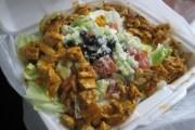 Kebab salad from Juanjo's