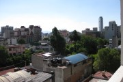 The view from the roof of our Colonia Cuauhtemoc apartment building in Mexico City