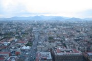 The view from the bar at the Torre Latinoamericana in Mexico City