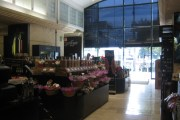 The food section at Palacio de Hierro in Roma. The chocolate fountain is hidden from this angle.
