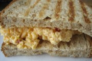 A pimento cheese sandwich from The Sweetery in Anderson, South Carolina
