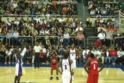 Jason Richardson shoots a free throw for the Phoenix Suns on Oct. 18, 2009, in Monterrey, Mexico