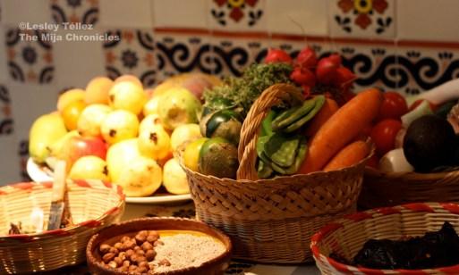 Carrots, corn and squash